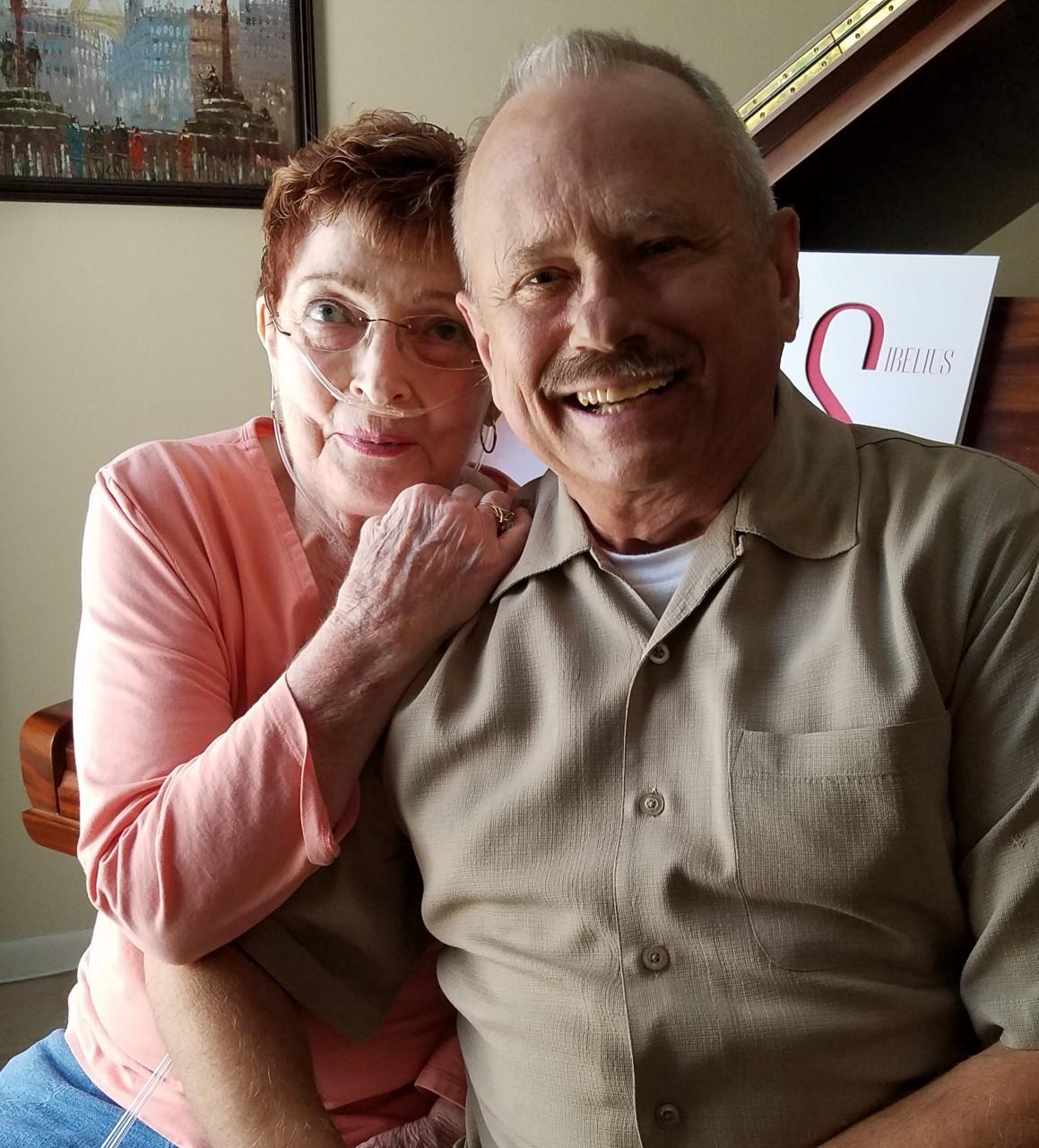 Mom and Elwood, Sep 2016