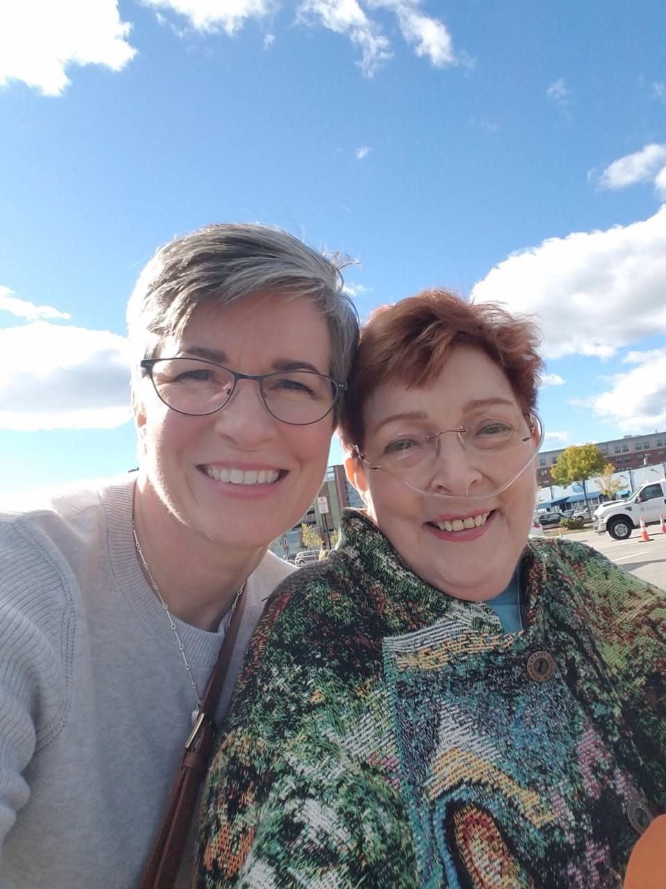 Mom and Siobhán, Sep 2016