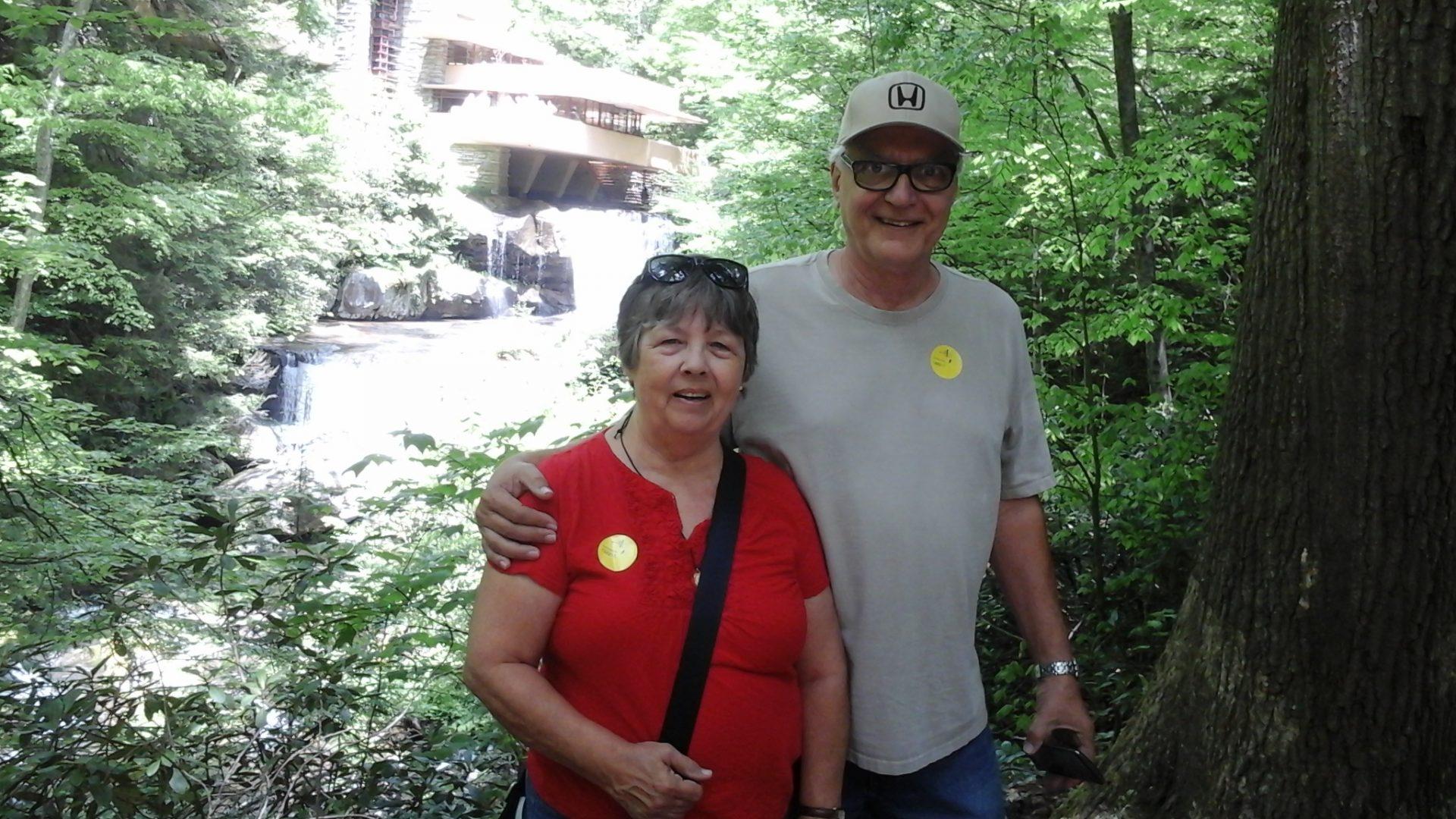 Our trip to Frank Lloyd Wrights  home in Pennsylvania.