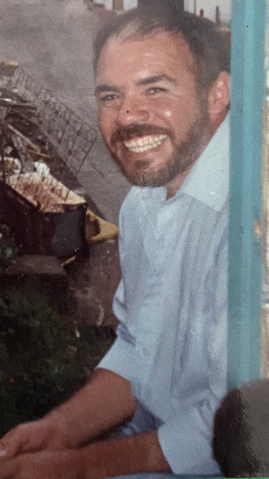 My daddy I love his smile. I will love and miss you daddy for eternity may you Rest In Peace Te Amo Por Siempre your little girl.