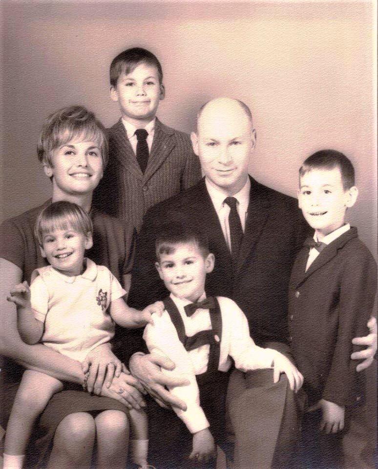 David  & Kane Family ~ 1966