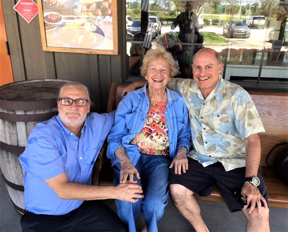 David, Brian & Judy (Mom) (2018)
