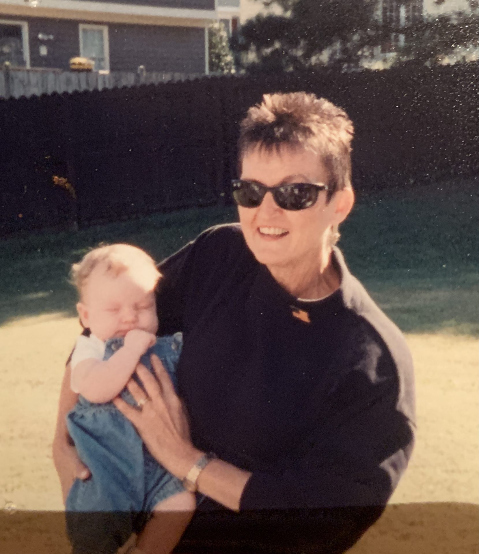 Mom and Rebekah