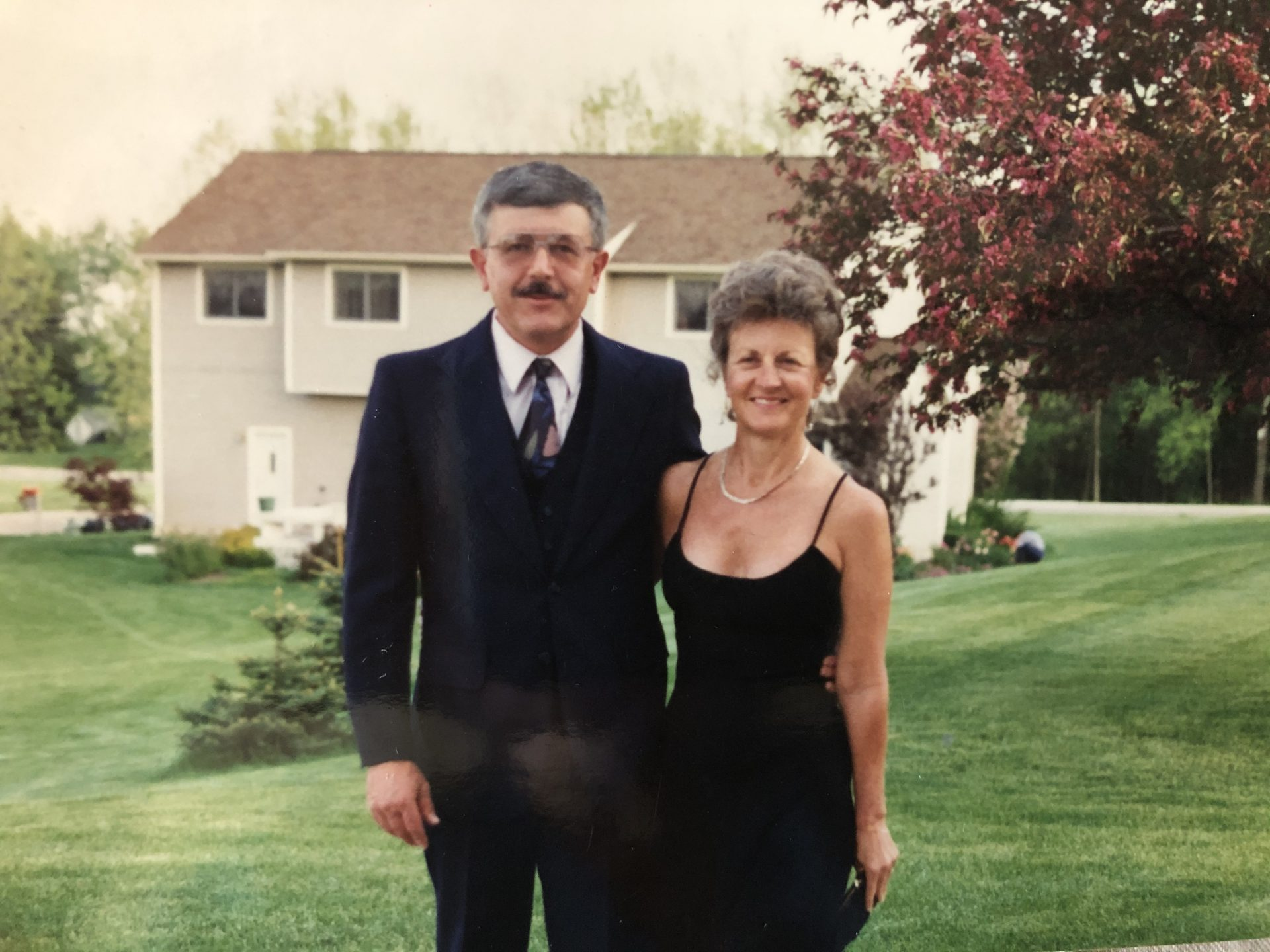 Mom and Dad<br /> Bendle Prom 1995 prom