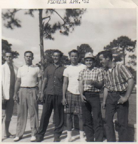 Six of the seven Saar Boys.