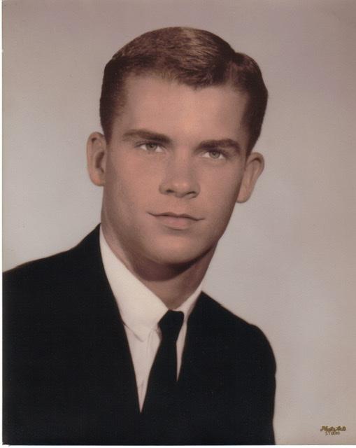 Allan's graduation photo (1963)