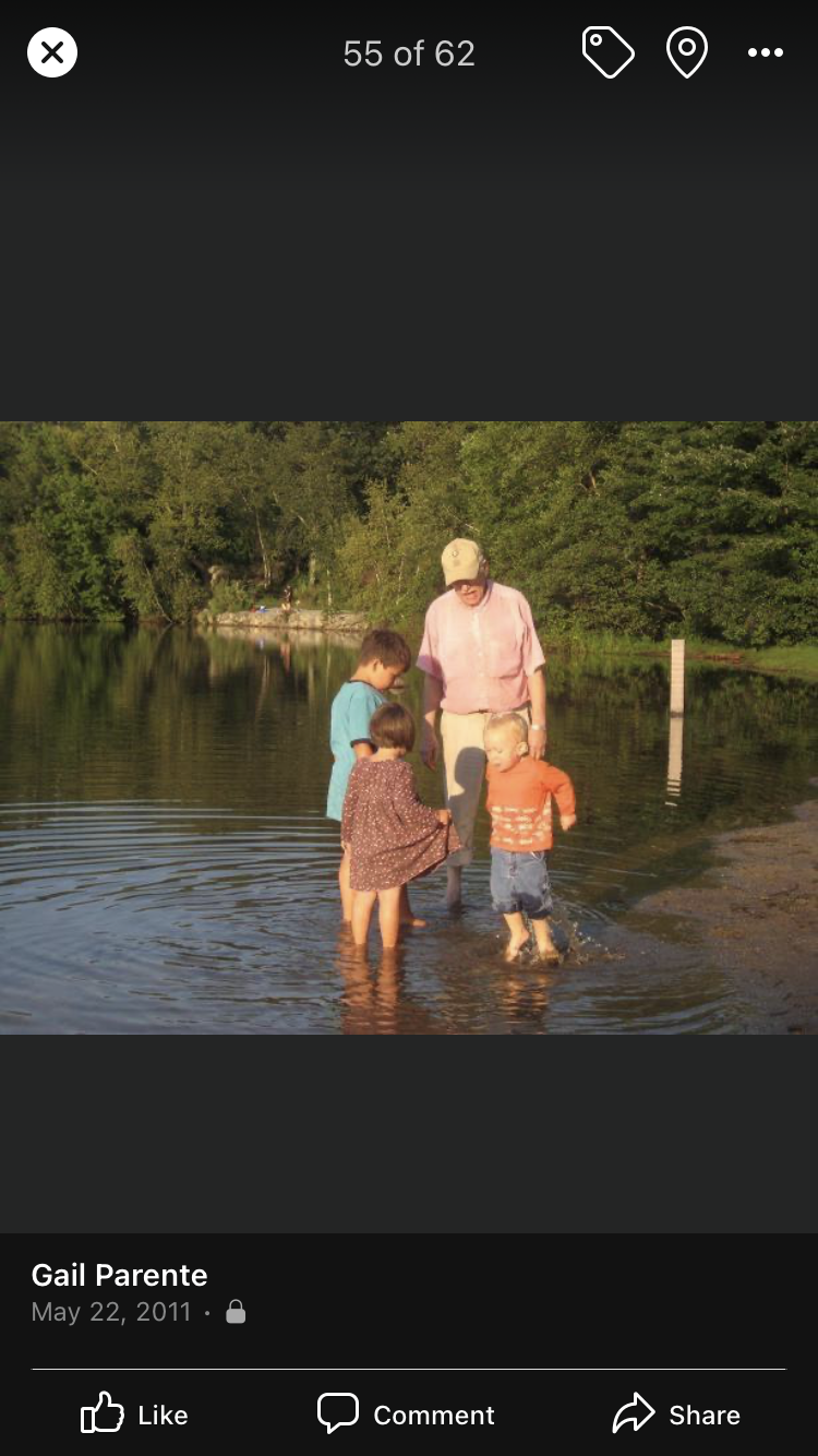 Pepere   grandchildren (8/09) N Andover