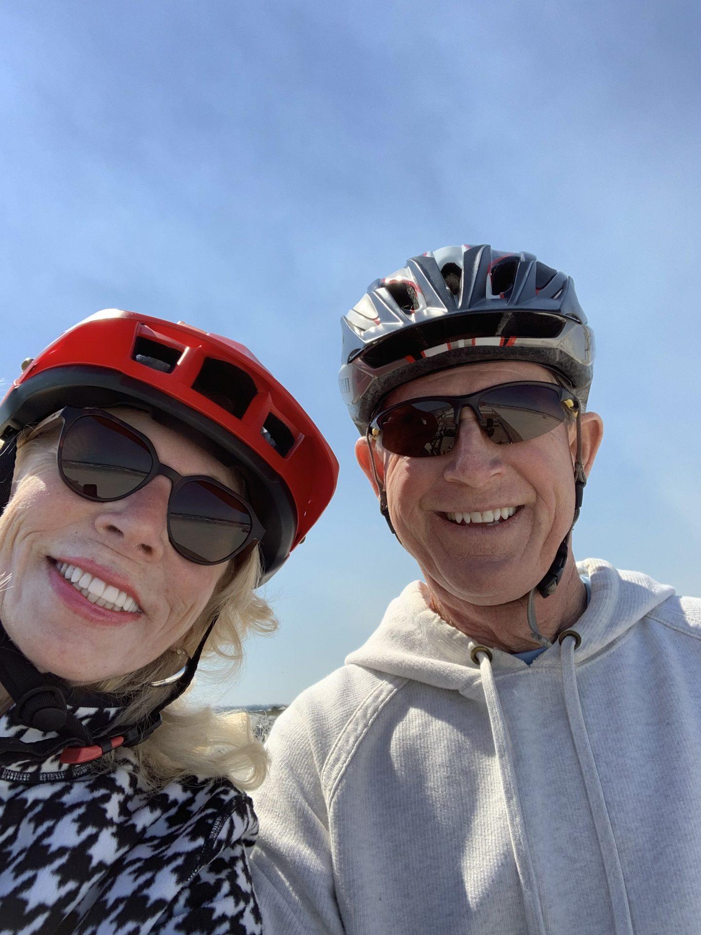 Biking at Ponce Inlet last fall