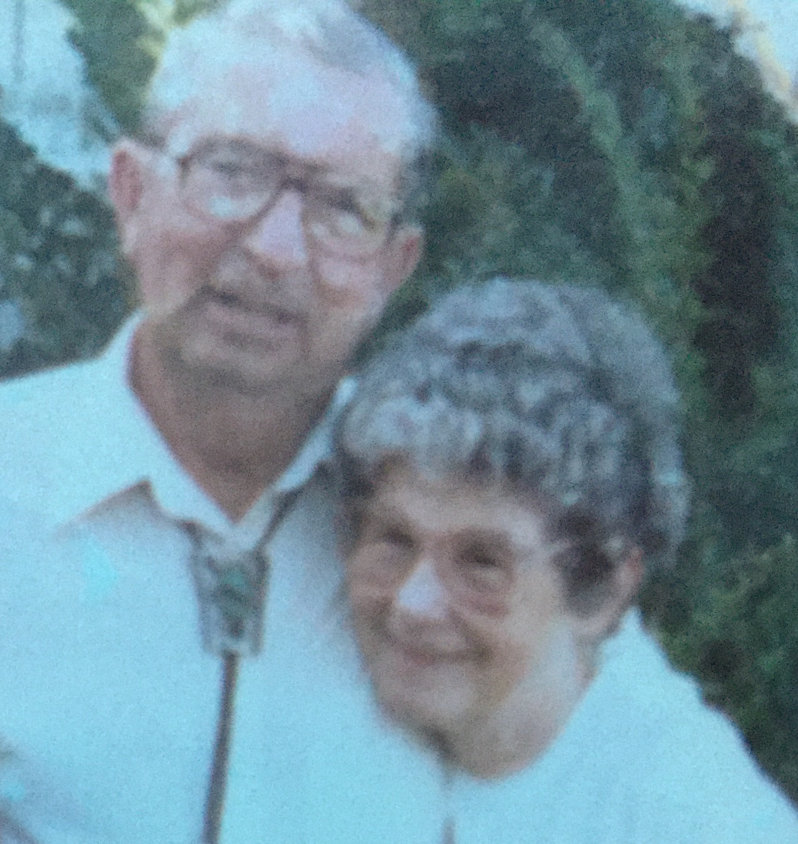 Nana and granddad are also with you now. Hold on tight. They will show you the way.