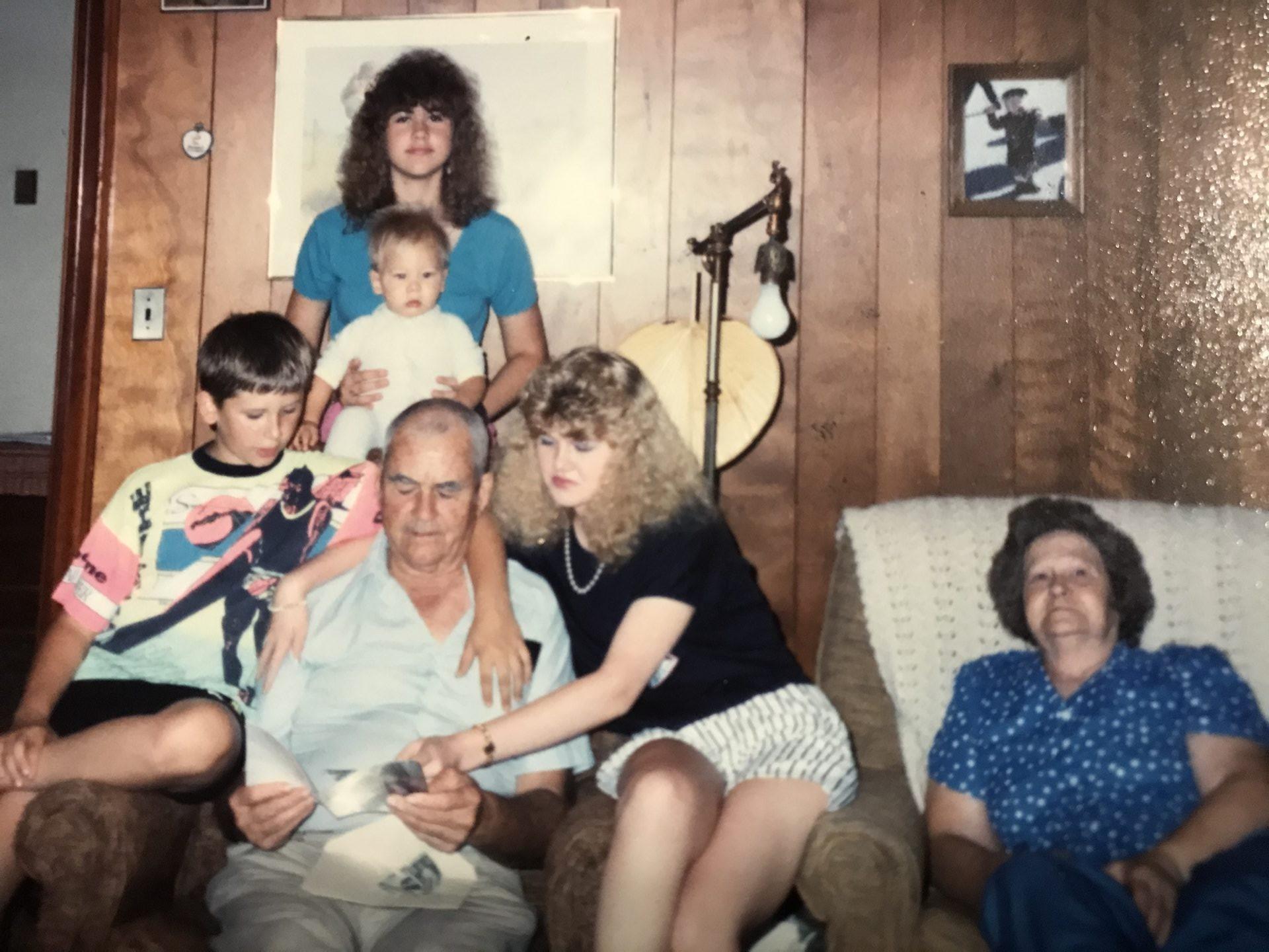Kenny, Chris, Kelly, Vickie, Papa and Mema