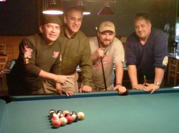 2014 Pool Match with Juan, Bondi, Chris and Gene