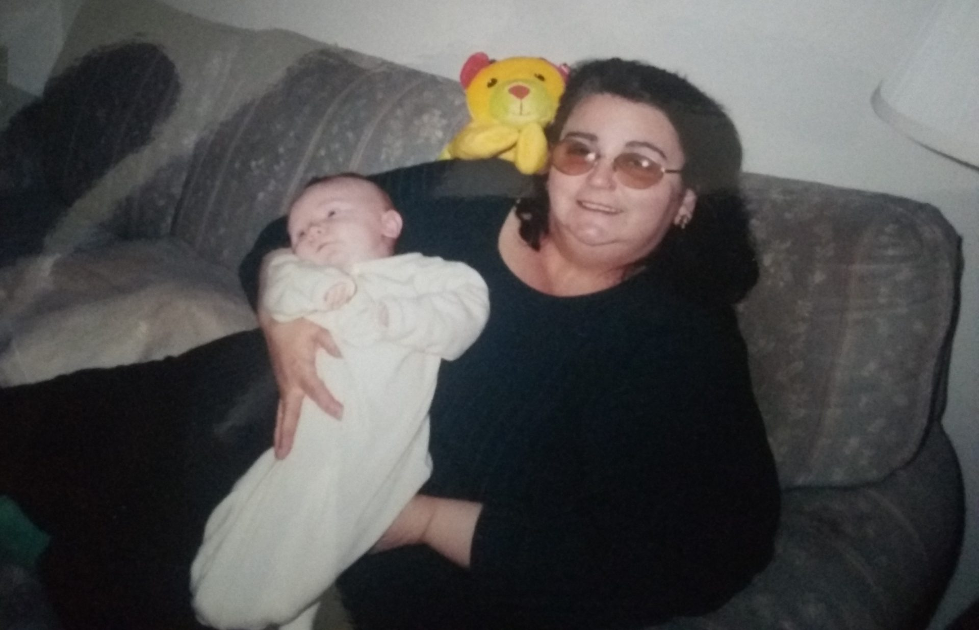 Grandma holding Kevin Harold Sona