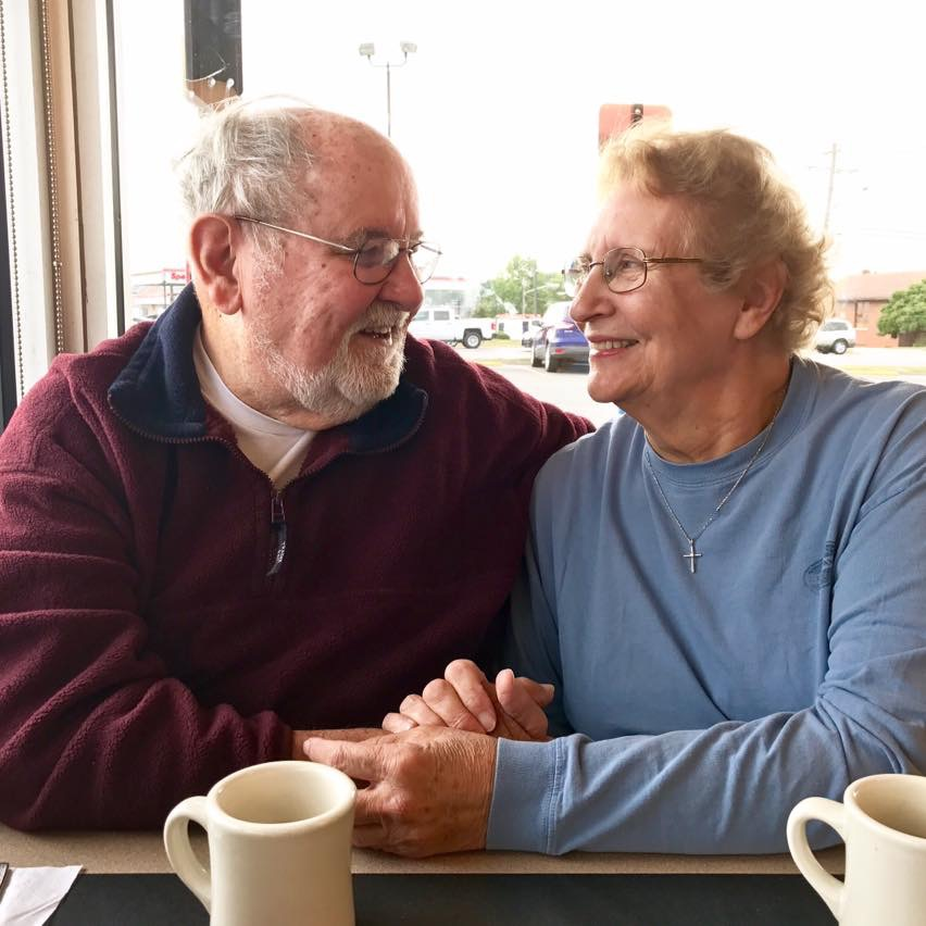 Sylvia and her sweetheart, James - her best friend in the whole world and devoted husband. They just adored each other.