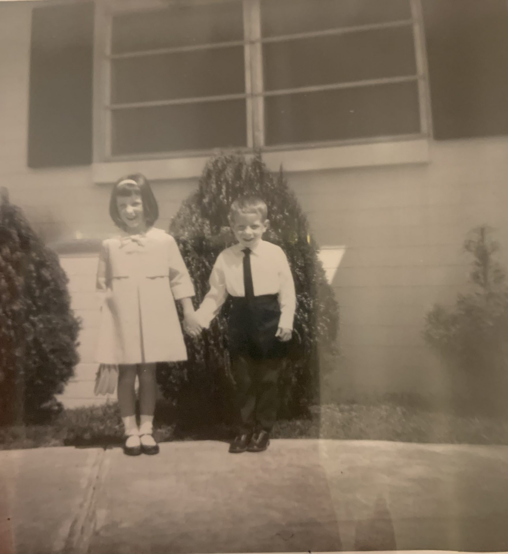 Richard, my brother and I when we were young children