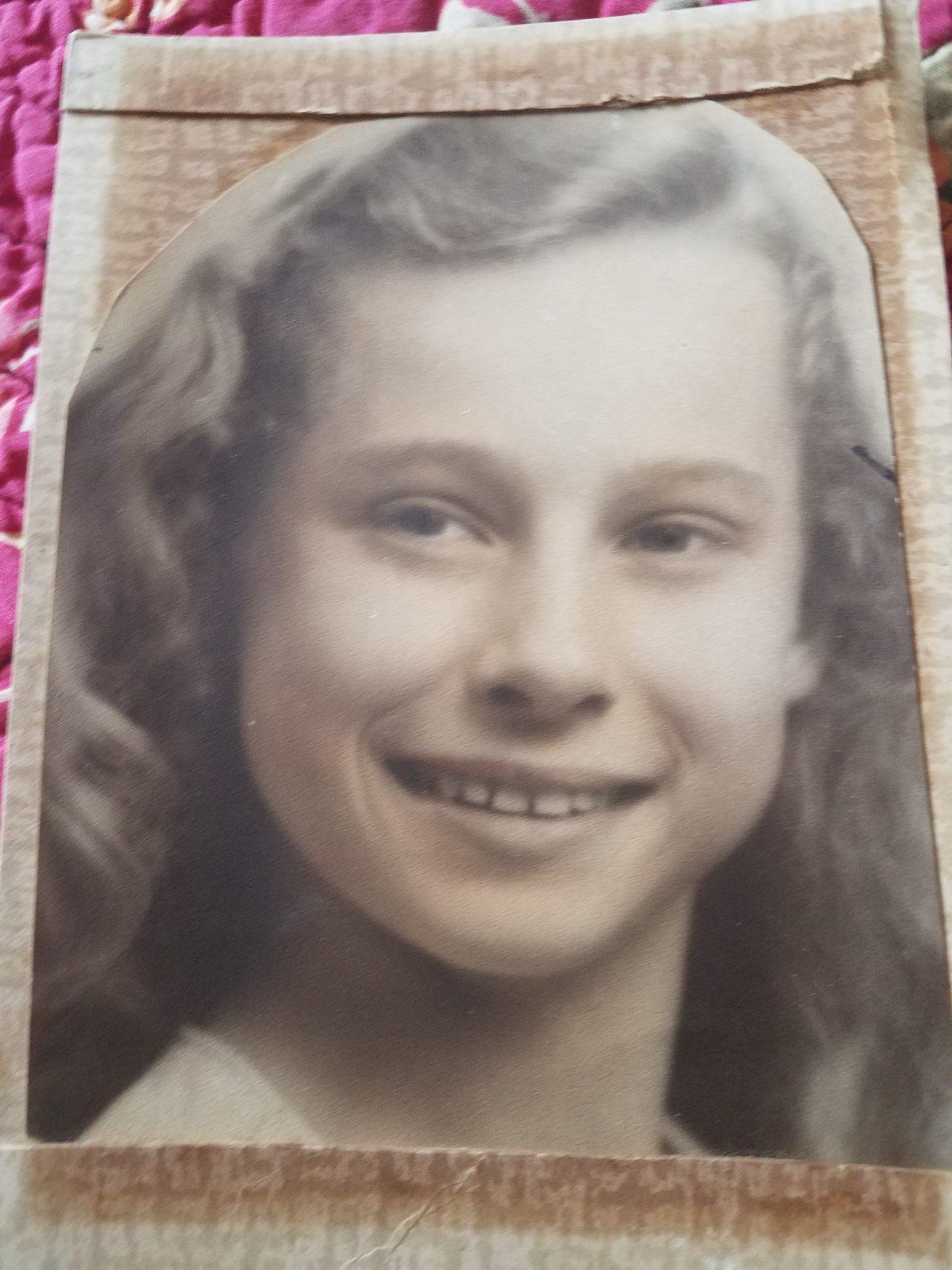 Barbara at 13 years old