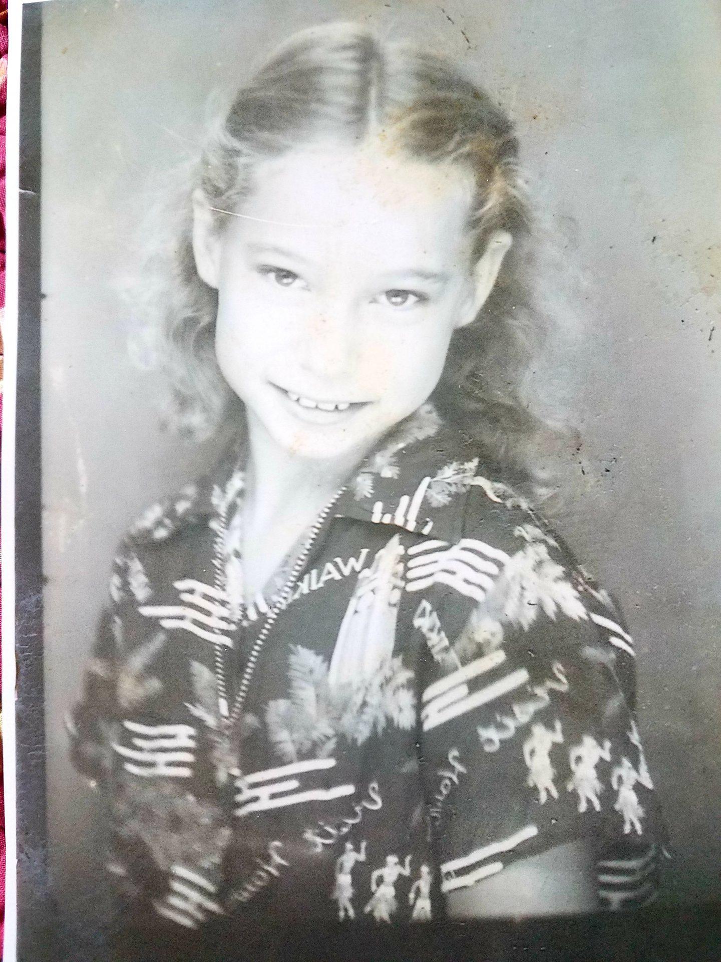 Barbara at 5 years old