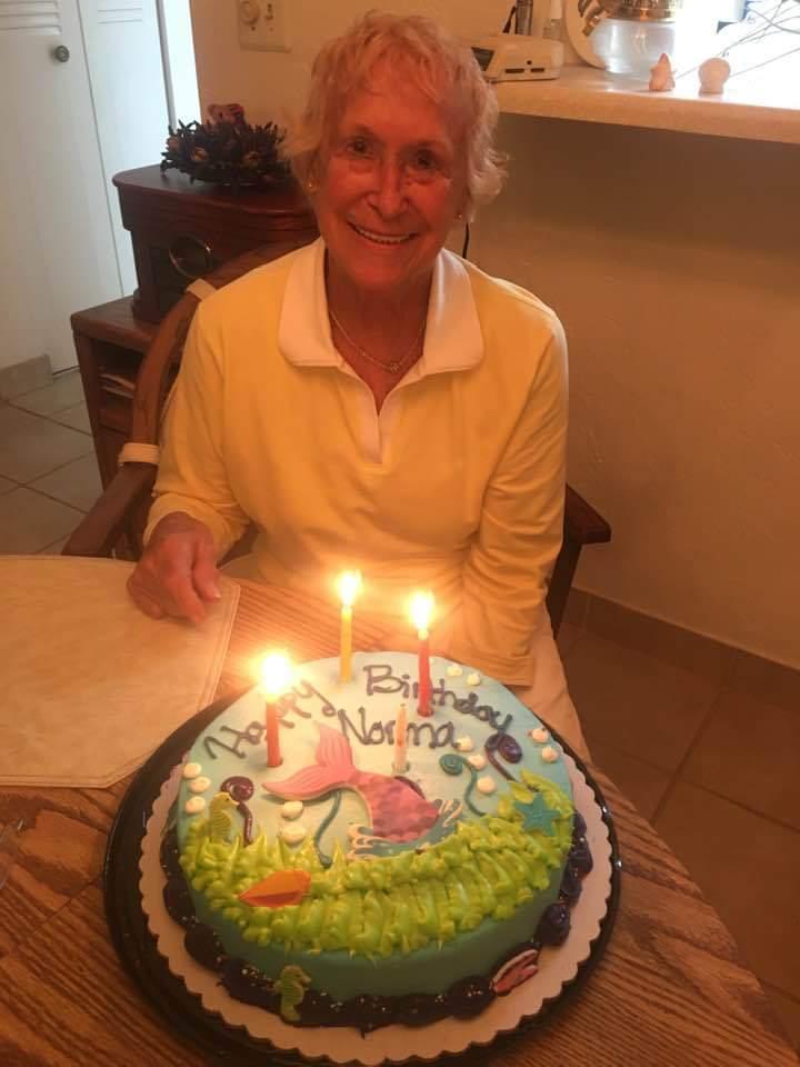 Mom's 93rd Birthday.