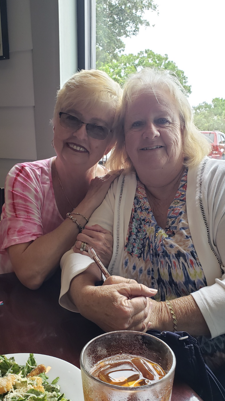 Lunch with Kathy who Shared many memories with me since 1970 . I will always cherish those times as sister in laws . The vacations our family's took together , the birth of our children, and so much more. Rest In Peace my sweet sister.  Love, Shirley.