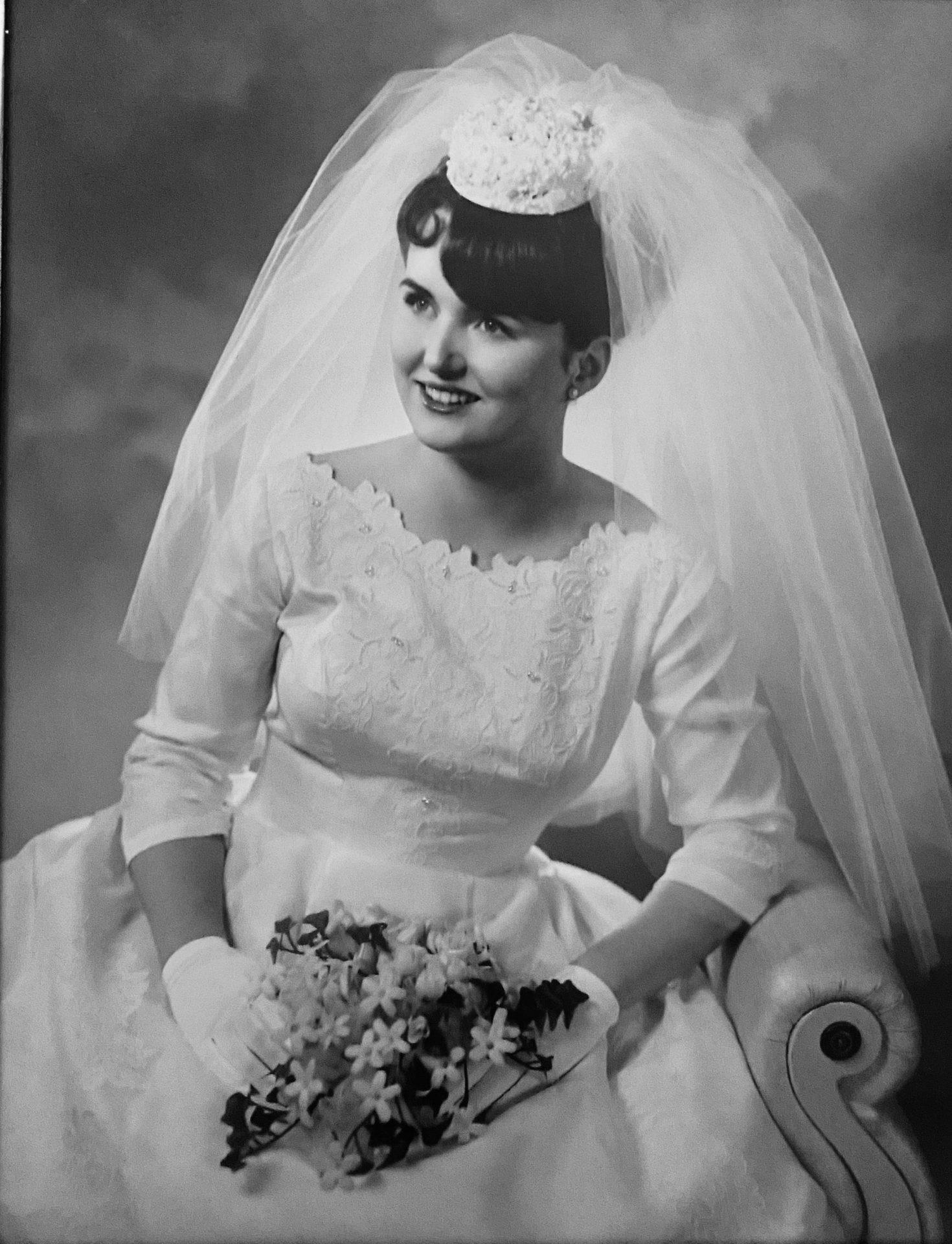 Mom's Wedding Portrait