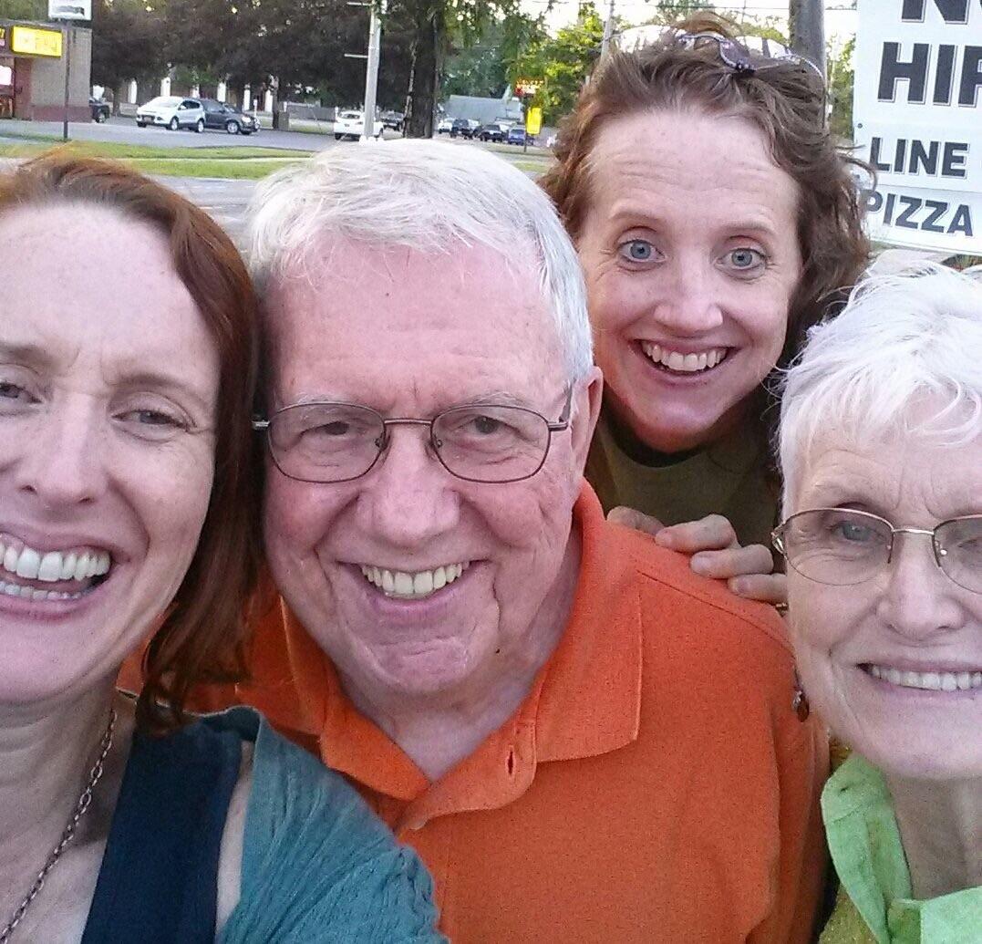 The family foursome, Liverpool NY 2015.