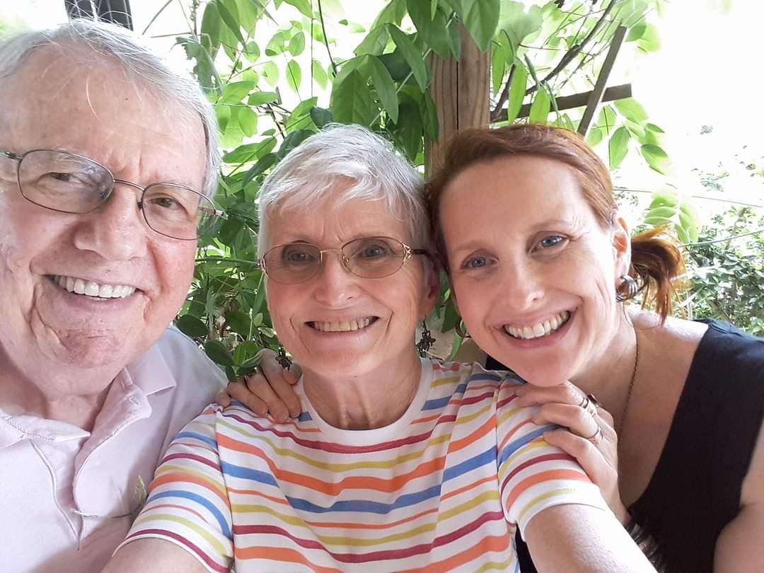 Mom, Dad & me, Ocala, 2017.