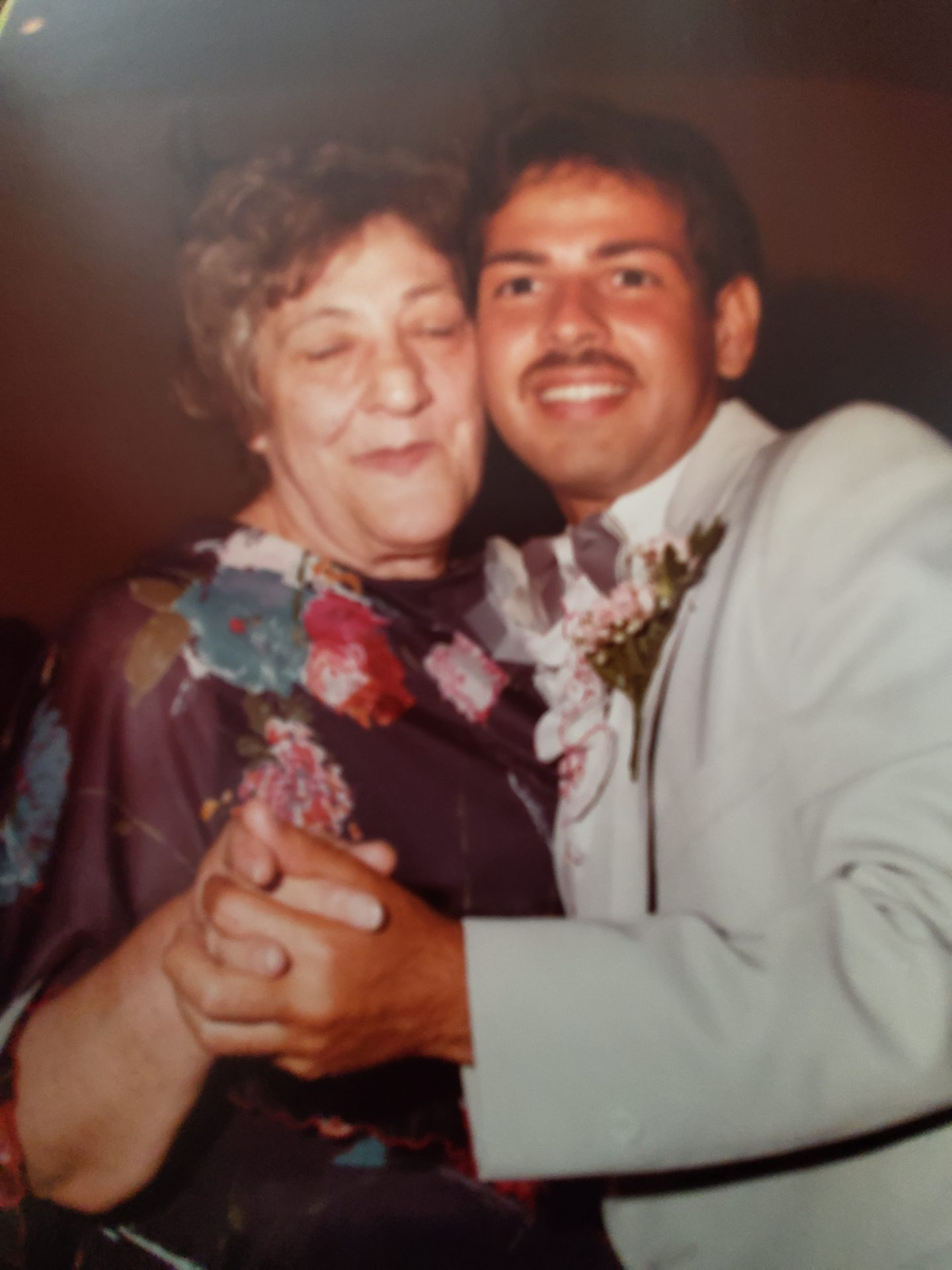 Love this picture of Ralph and Gram
