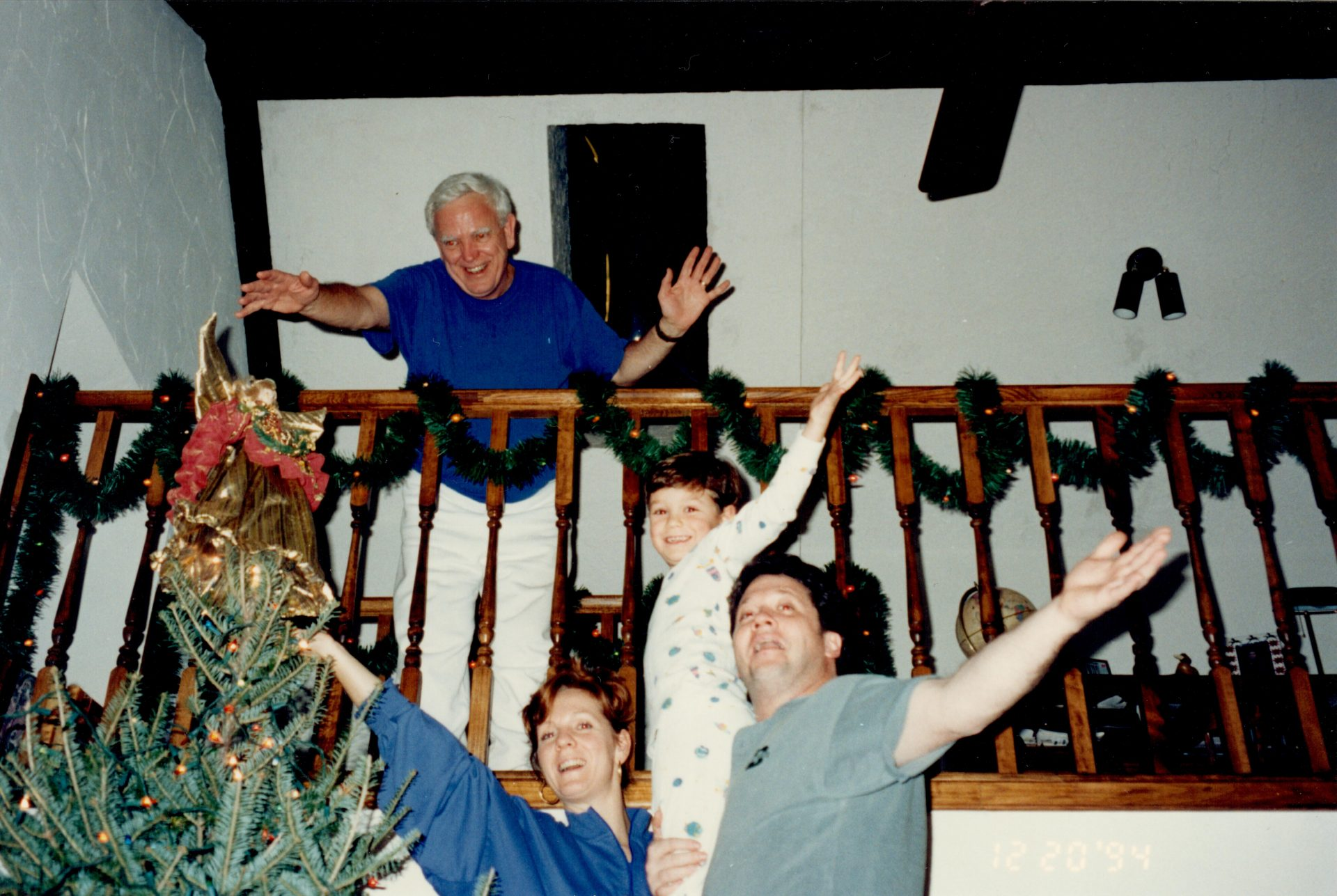Cherished memories of Dad's love for Christmas!