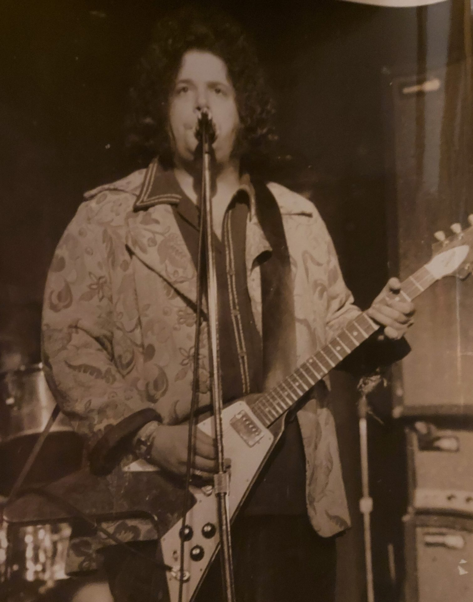 Leslie West at the Imperial Theatre in Toronto,  Ontario, Canada