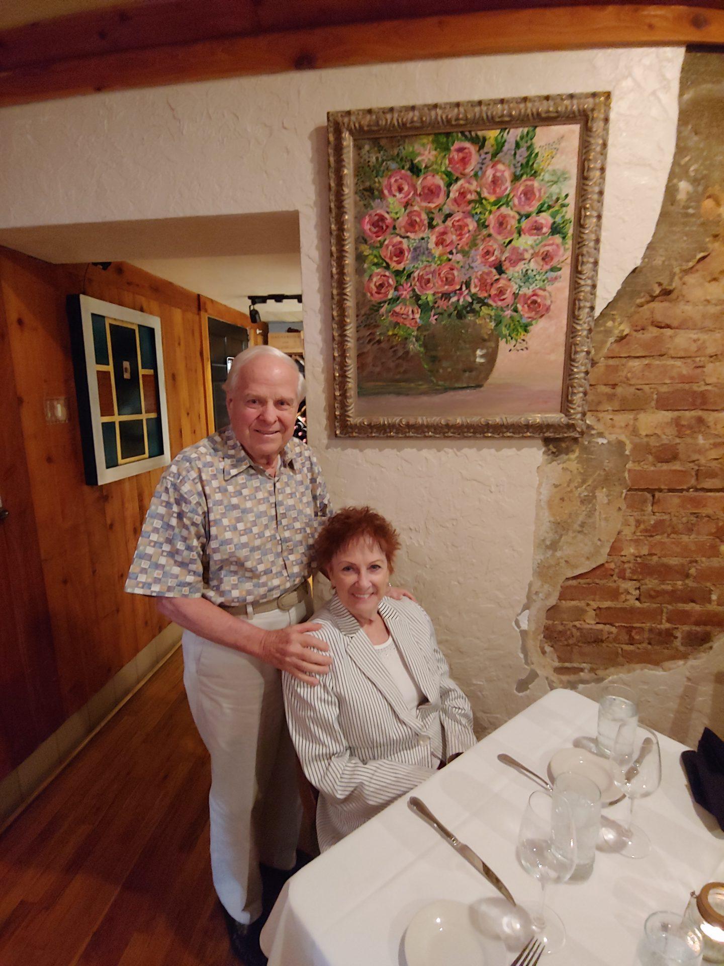 Geraldine and George