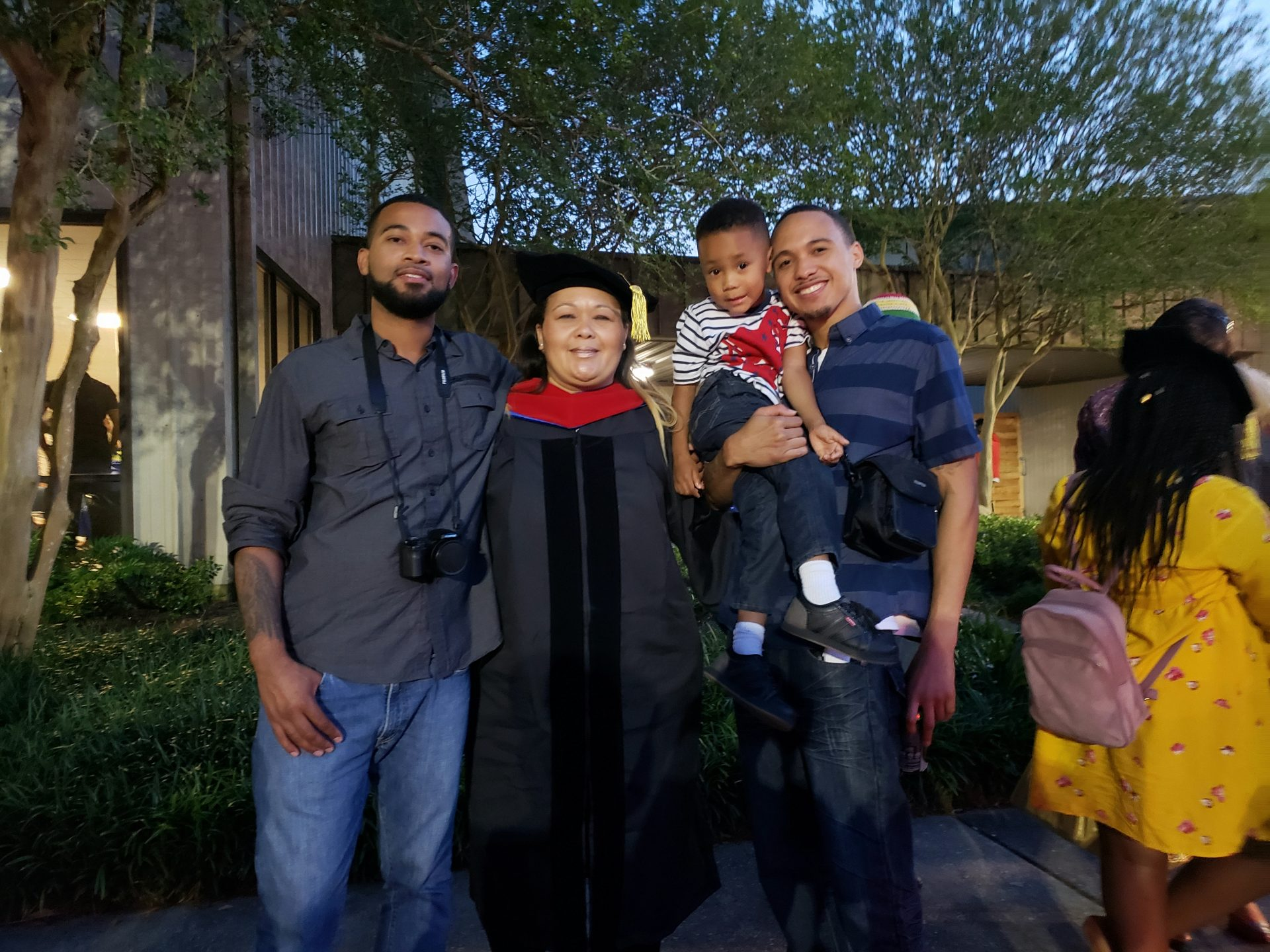 Mommy because of you I dared and succeeded  to become  Dr. Anna Arce, and because of you my children and grandchildren will strive and reach even higher heights. You are our strength and you will live on in us.  We love you so dearly.
