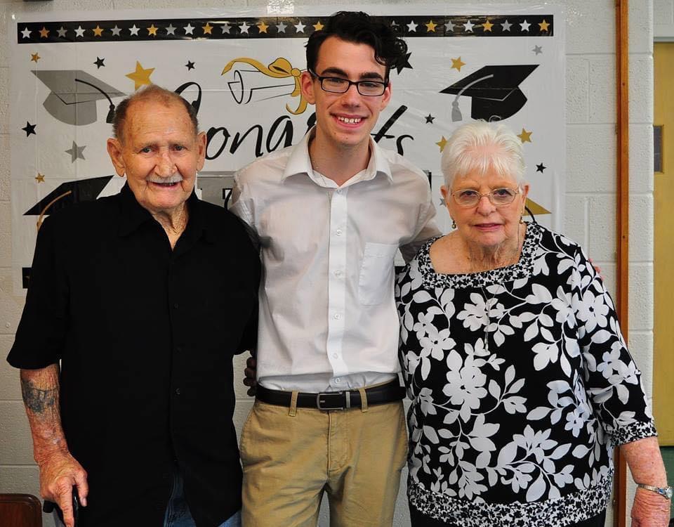 Grandson Thomas' High School Graduation party 2017
