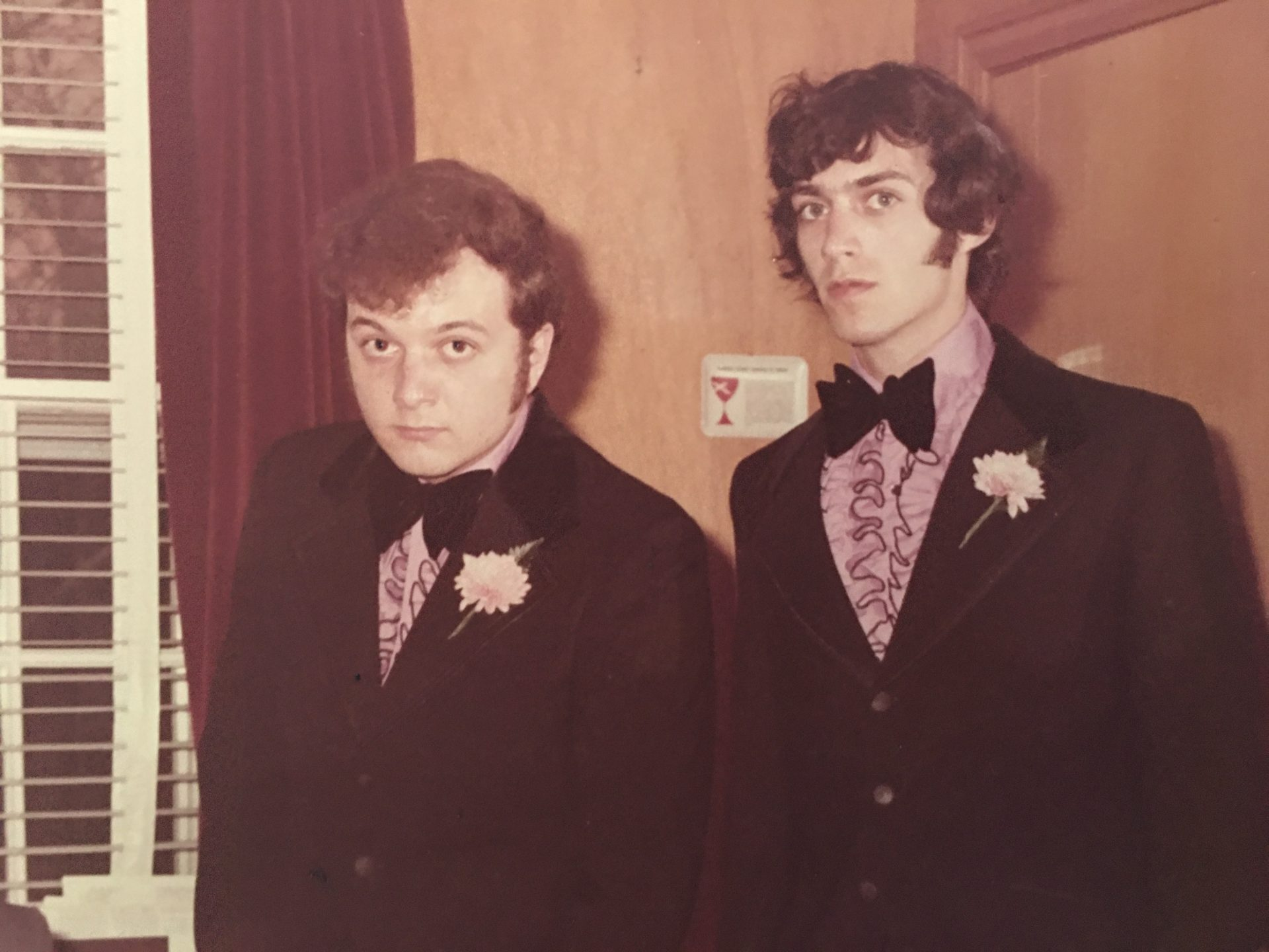 Gary's Wedding Day with Best Man Skip Boyd