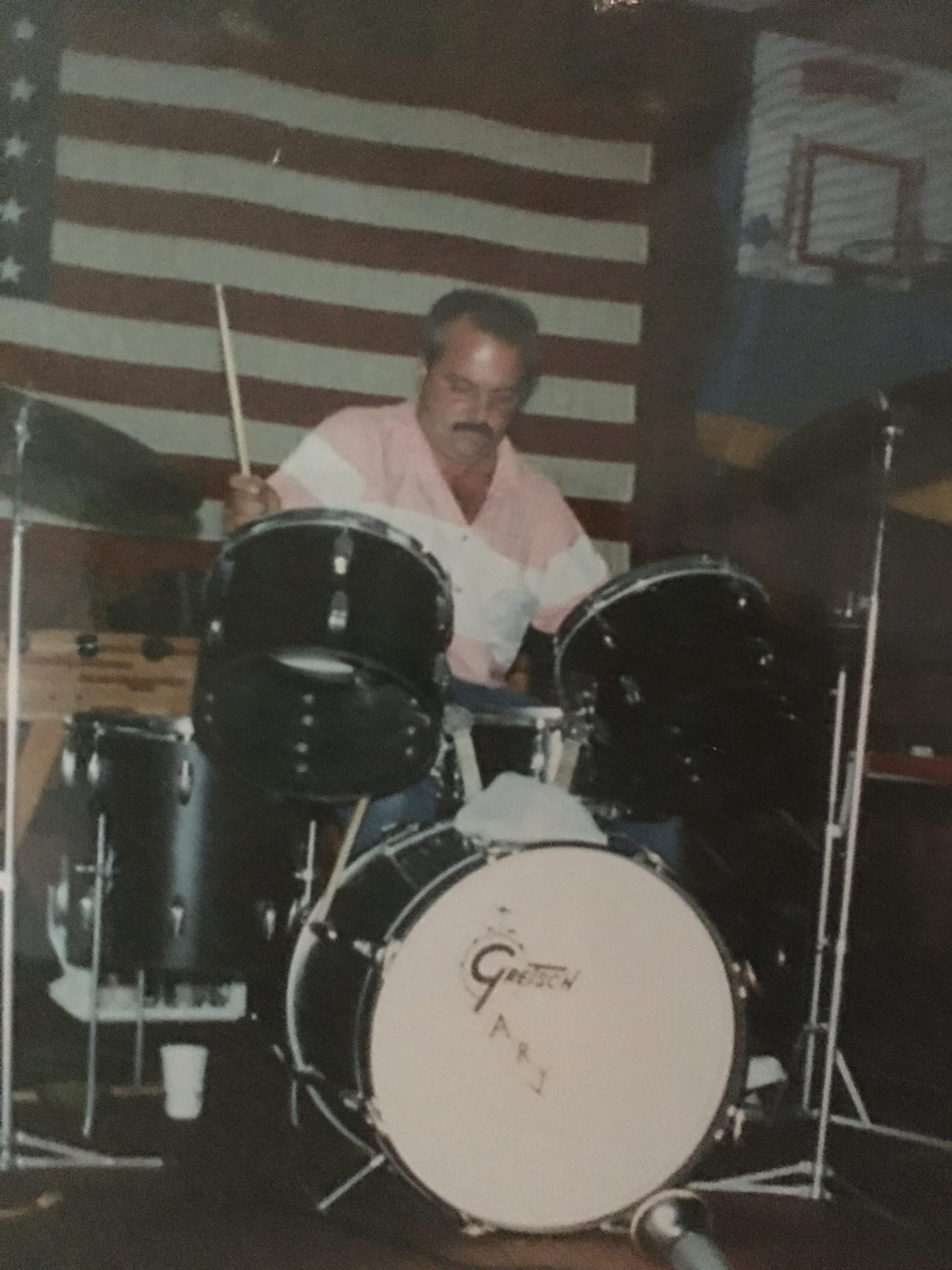 Playing the Drums
