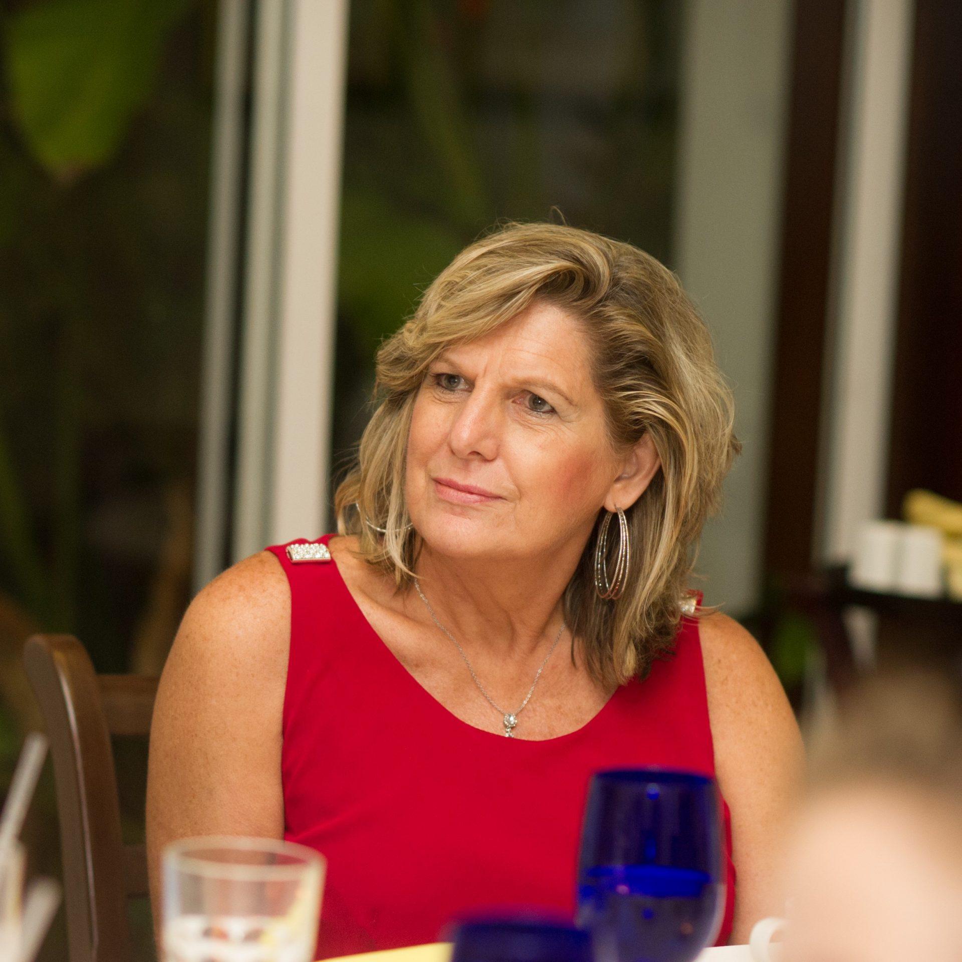 Inge in Jamaica for Jen's Wedding