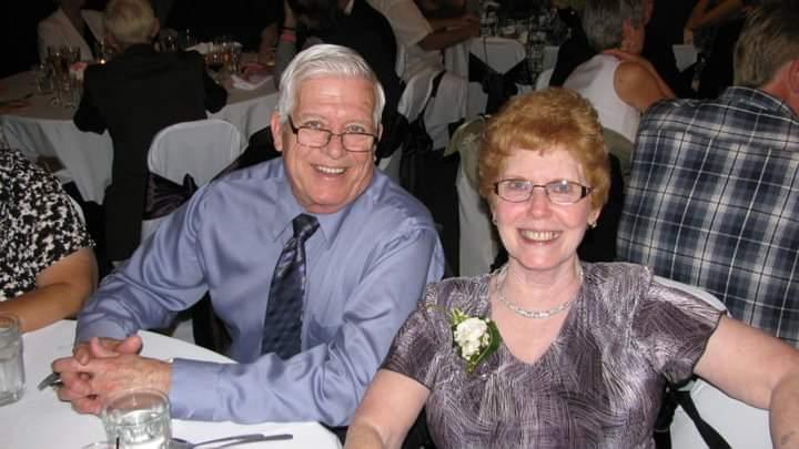 Bob and Shirley at their Grandson Joshs wedding.