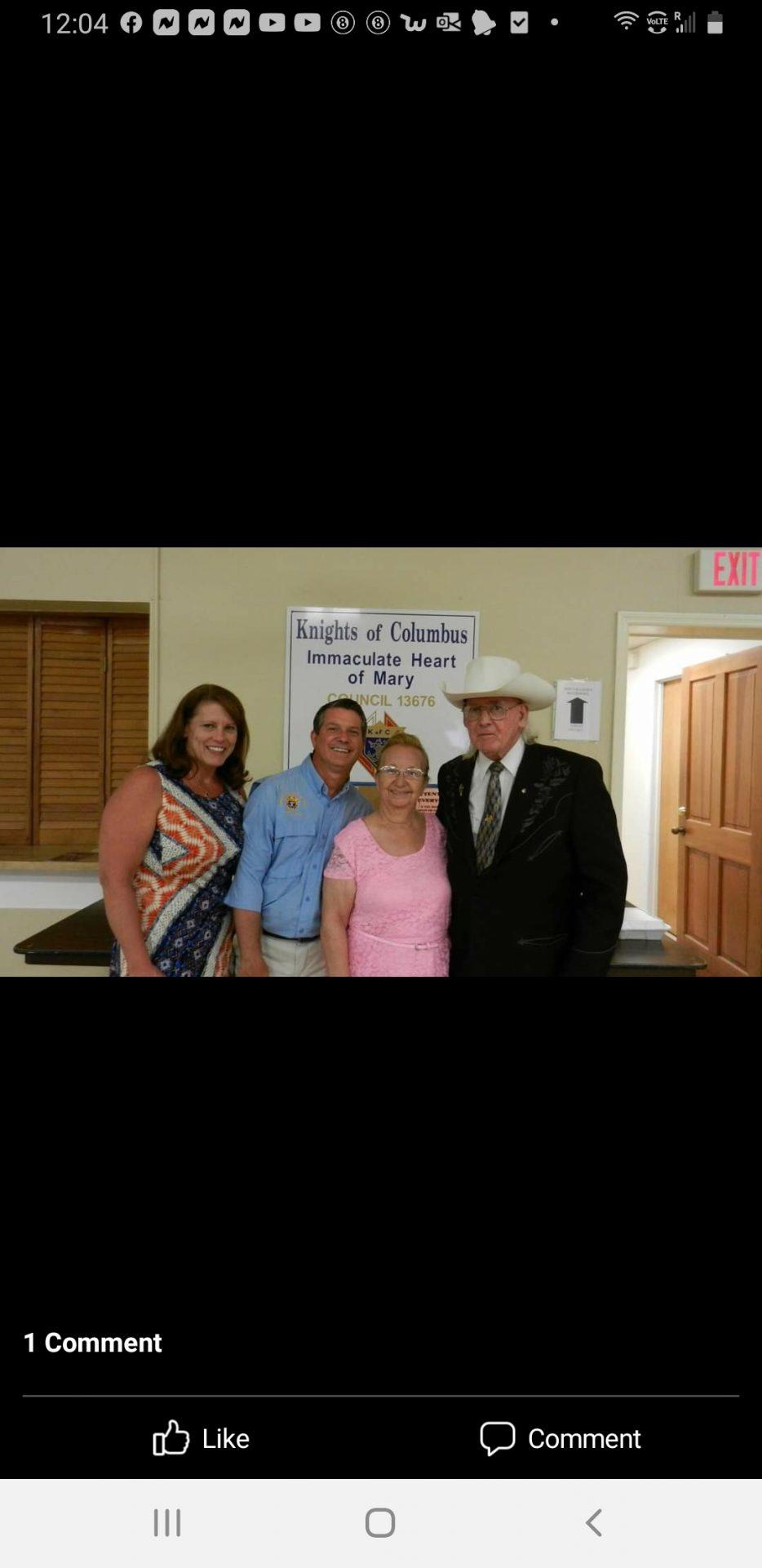 Mom, Dad , Jocelyn and I