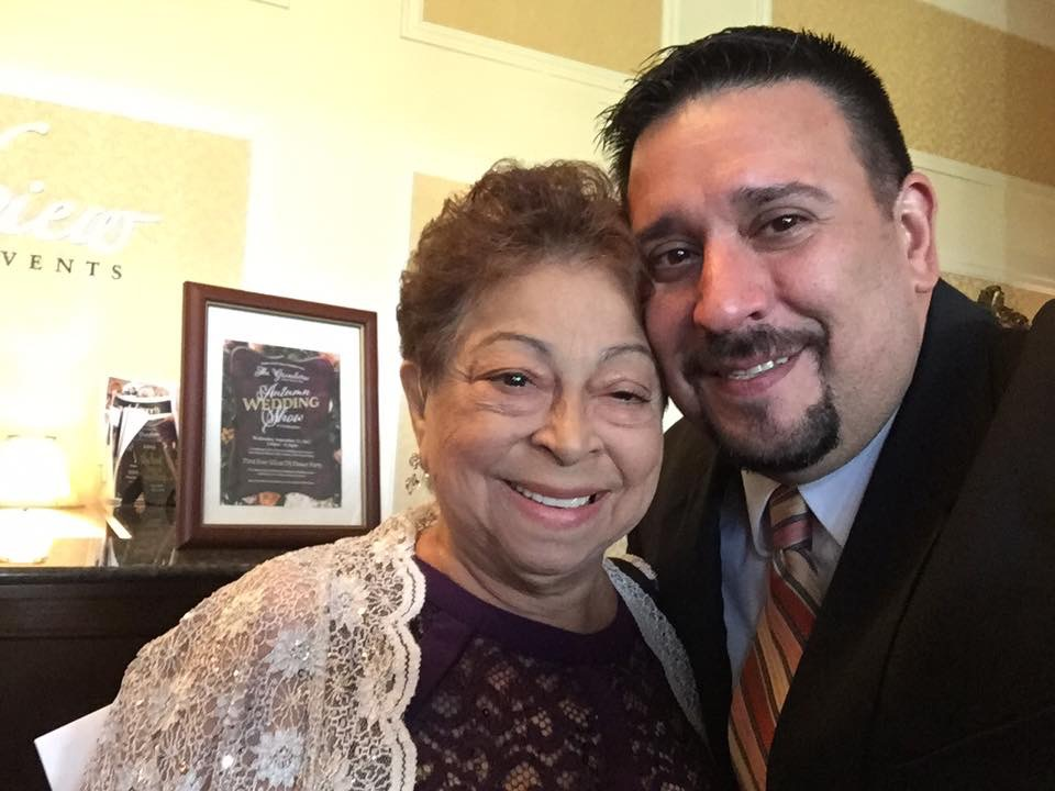 My 2nd Mom! 40 years a part of my life. Oh the stories I could tell! But now my home is quiet.  I will always cherish my time with you and hope youbwatxh over all of us with joy. Love you Mamma!