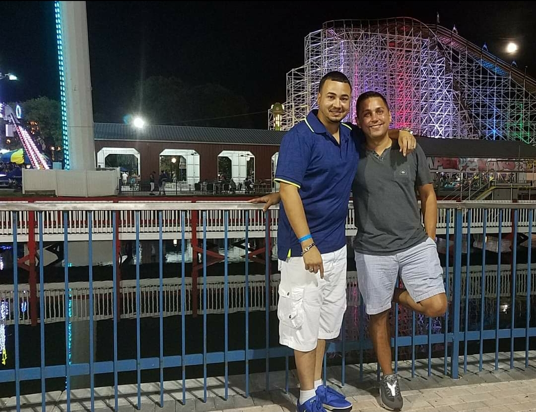My last picture with Tony. We was at Old Town,  Fl  hanging out for a while.
