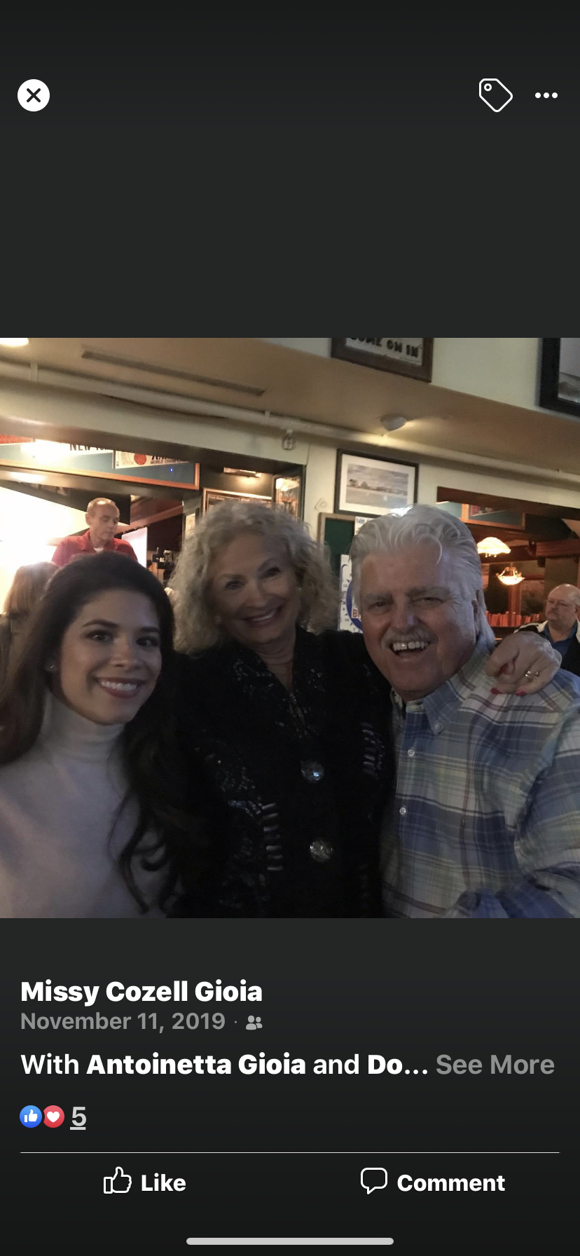 Toni, Donna-Lee and Jimmy