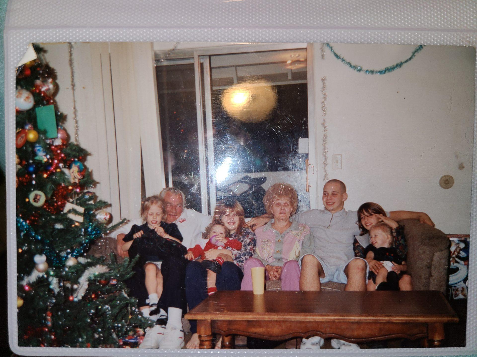 Grandpa grandma and us grandkids