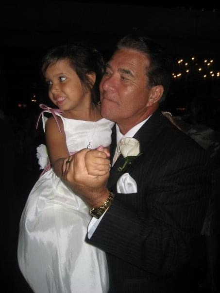 My father dancing with his first grandchild Kylie. His grandchildren were his pride and joy. I love you Dad