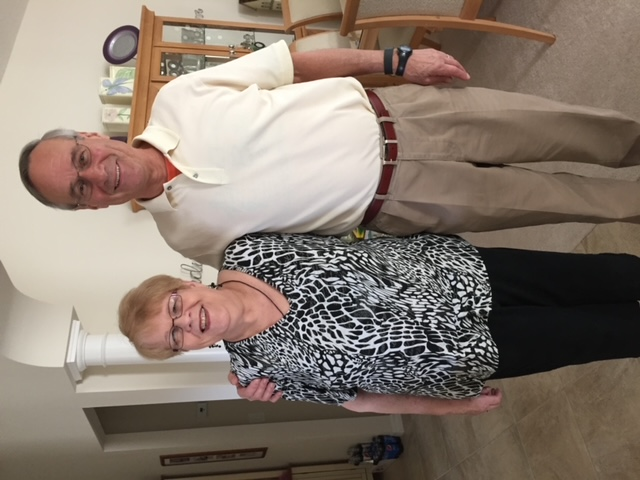 John Steen's Visit with JoAnn at her home in The Villages Florida January 16, 2016