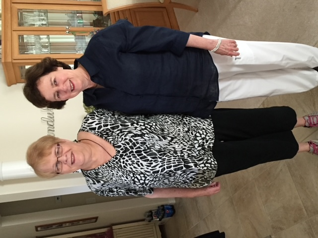 Sue & John Steen's Visit with JoAnn at her home in The Villages Florida January 16, 2016