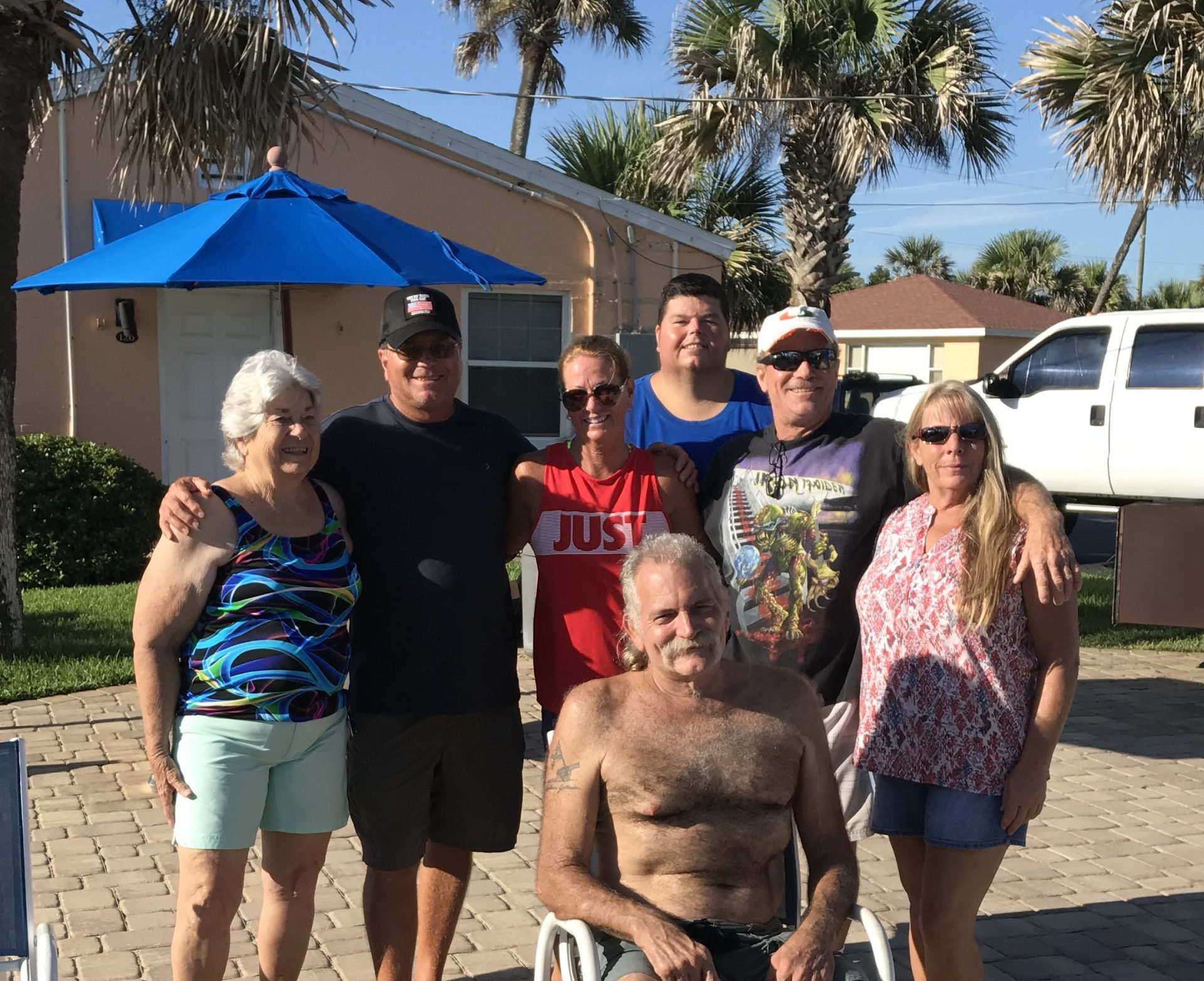 Family reunion memories <br /> Pat, Mike, Bobbi, Michael, Todd,Pam and Dean ! Great times!❤️