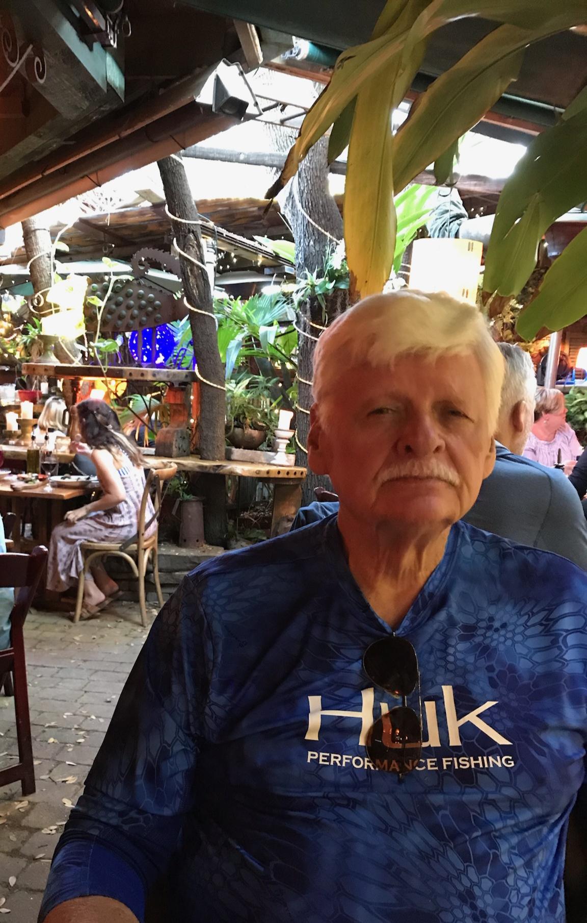 Ken dark blue shirt