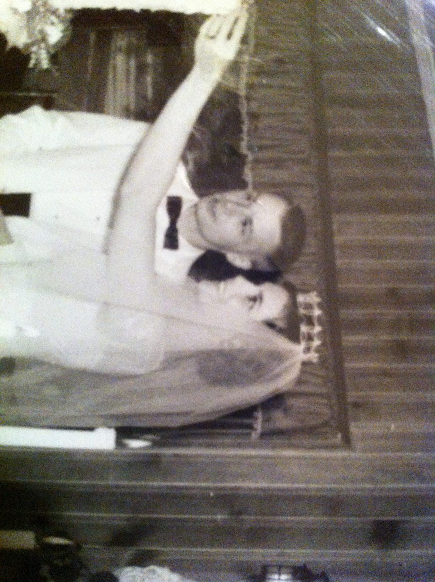 Sonia and Bob's wedding 1960