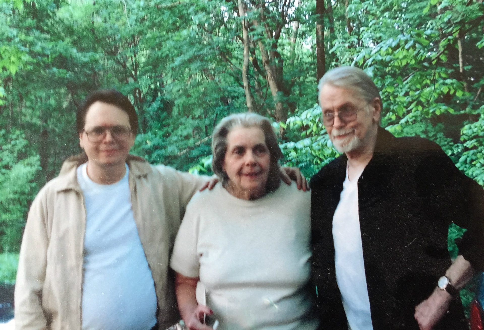 Left to Right: Myself, Mom and Dad.