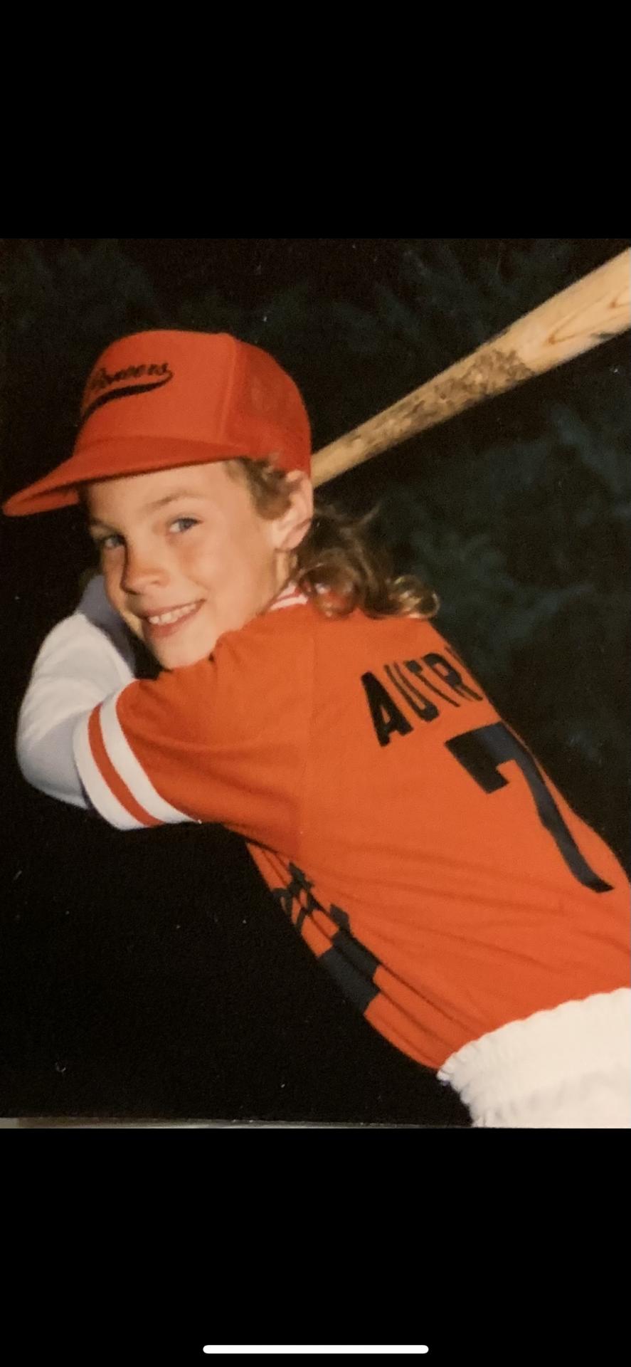 Jason's team baseball picture.