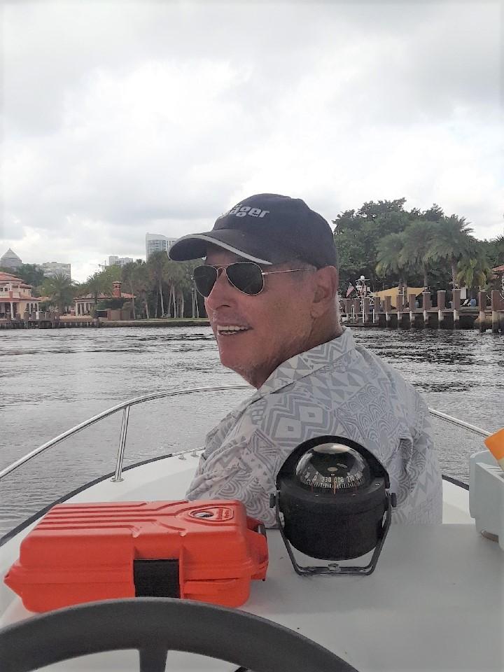 John on New River October 2020