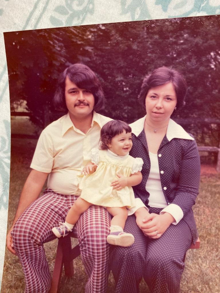 Mom, Dad, and Danielle (daughter)